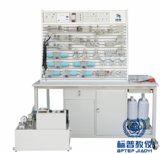 吴江BPITHT-9038铝槽式铁桌液压气动PLC控制实验台