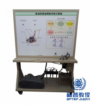 BPATE-502柴油机燃油喷射系统示教板