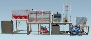 昆山BPETE-405污水处理厂立体布置模型