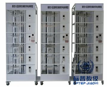 吴江BPBAE-9033群控六层透明仿真教学电梯模型