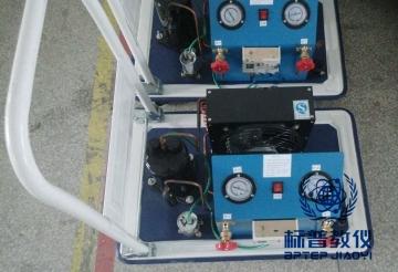 BPRHTE-8045空调加压、抽真空、制冷剂回收实训装置