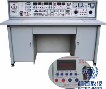 BPECEM-307电工.模电.数电.电气控制(带直流电机实验)五合一实验室设备