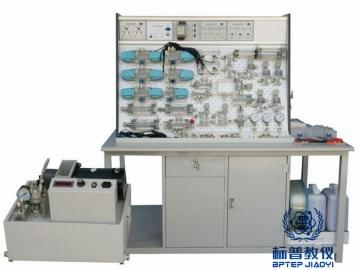 BPITHT-9020插孔式铁桌液压PLC控制实验台