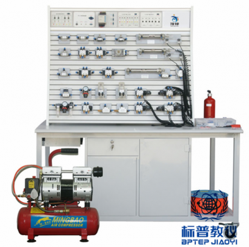 吴江BPITHT-9031铝槽式铁桌气动PLC控制实验台